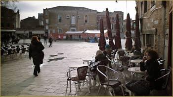 Campo Santa Margarita, dans le Sestier du Dorsoduro à Venise.