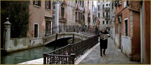 Fondamenta de le Erbe, dans le Sestier du Cannaregio à Venise.