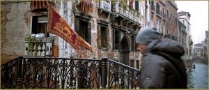 Le pont del Cristo, dans le Sestier du Cannaregio à Venise.