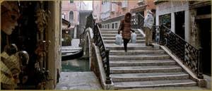 Pont San Provolo, dans le Sestier du Castello à Venise.