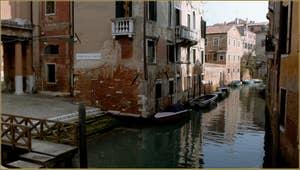 Le Campiello de la Chiesa et le rio de la Celestia - San Francesco de la Vigna, dans le Sestier du Castello à Venise.