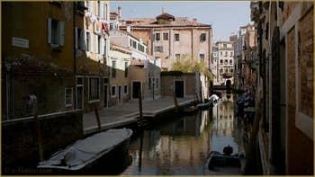 La Fondamenta Contarini et le rio de San Stin, dans le Sestier de San Polo à Venise.