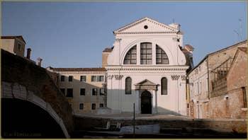 L'église de San Trovaso, dans le Sestier du Dorsoduro à Venise.