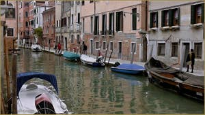 Le rio et la Fondamenta de San Felice, dans le Sestier du Cannaregio à Venise.