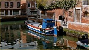 Le rio et la Fondamenta de San Sebastian, dans le Sestier du Dorsoduro à Venise.