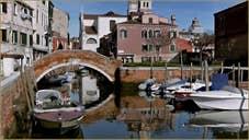 pont de la Piova, dans le Sestier du Dorsoduro à Venise