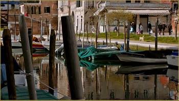 Le rio et la Fondamenta dell'Arzere, dans le Sestier du Dorsoduro à Venise.