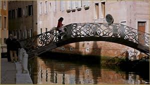 Le pont dei Ragusei, dans le Sestier du Dorsoduro à Venise.