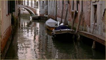 Le rio de la Madalena et le Pont Correr, dans le Sestier du Cannaregio à Venise.