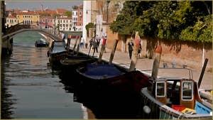 La Fondamenta du rio de Santa Eufemia, sur l'île de la Giudecca à Venise.