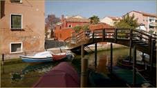 Le Campiello Ferrando et le pont et le rio de la Palada, sur l'île de la Giudecca à Venise.