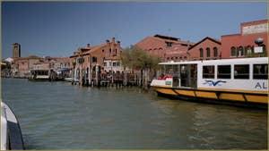 La Fondamenta Andrea Navagero, sur l'île de Murano à Venise.