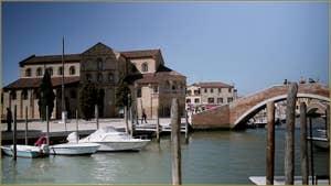 La Basilique des Santi Maria e Donato, sur l'île de Murano à Venise.