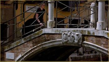 Le pont Rielo, dans le Sestier du Castello à Venise.
