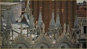 Détail de la Basilique Saint-Marc à Venise.