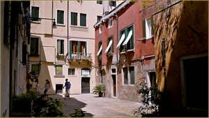La jolie petite Corte de la Vida, dans le Sestier de Saint-Marc à Venise.