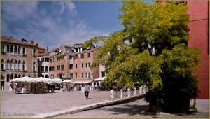 Le Campo Sant'Anzolo, dans le Sestier de Saint-Marc à Venise.