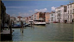 Le Grand Canal de Venise.