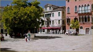 Le Campo Bandiera e Moro o de la Bragora, dans le Sestier du Castello à Venise.