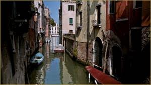 Le Rio del Malpaga, dans le Sestier du Dorsoduro à Venise.