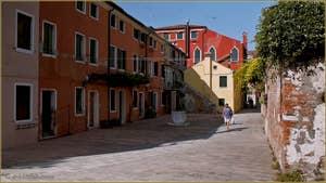 Le Campiello de Ca' Pesaro, dans le Sestier du Cannaregio à Venise.