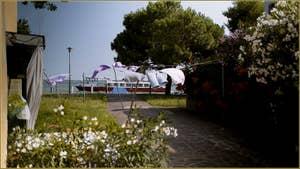 La Corte Terranova sur l'île de Burano à Venise.