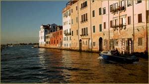 La Sacca de la Misericordia, dans le Sestier du Cannaregio à Venise.