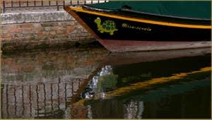 Reflets sur le rio dei Frari, dans le Sestier de San Polo à Venise.