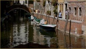 La Fondamenta et le rio de Sant'Andrea, dans le Sestier du Cannaregio à Venise.