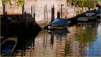 Le rio de la Sensa, dans le Sestier du Cannaregio à Venise.