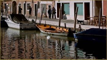 La Fondamenta de le Capuzzine, le long du rio de San Girolamo, dans le Sestier du Cannaregio à Venise.