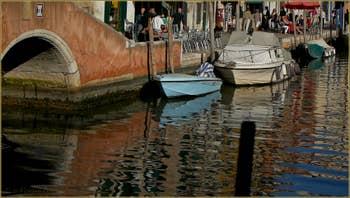 Le pont de le Torete et la Fondamenta degli Ormesini, dans le Sestier du Cannaregio à Venise.