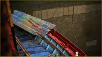 Couleurs et reflets sur le rio del Duca, dans le Sestier de Saint-Marc à Venise.