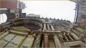 Les gouttières de la Basilique Saint-Marc, dans le Sestier de San Marco à Venise.