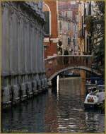 Le rio et le pont dei Miracoli, dans le Sestier du Cannaregio à Venise