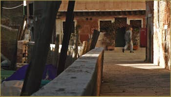 La Fondamenta del Trapolin et le Campo San Marziale, dans le Sestier du Cannaregio à Venise.