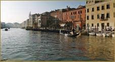 Dans l'Or du Grand Canal de Venise