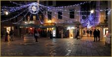 illuminations de Noël sur le Campiello Crovato-San Canzian