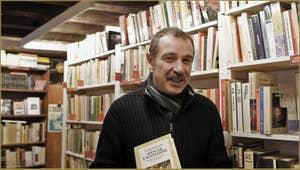 Claudio, de la Librairie Marco Polo dans le Sestier du Cannaregio à Venise.