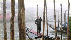 Luciano, Gondolier à Venise.