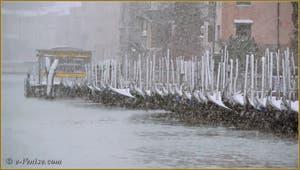 Venise sous la neige.
