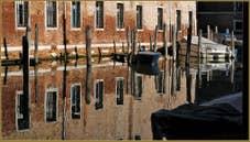 Reflets sur le rio di Sant'Alvise, dans le Sestier du Cannaregio