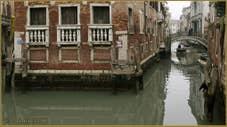 Le Palazzo, le rio et le pont de la Tetta