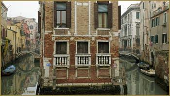 Le Palazzo Tetta, dans le Sestier du Castello à Venise.