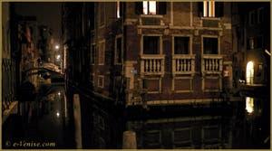 Le Palazzo Tetta et le rio de San Giovanni Laterano, dans le Sestier du Castello à Venise.