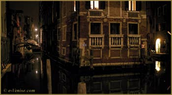 Le Palazzo Tetta et le rio de San Giovanni Latera