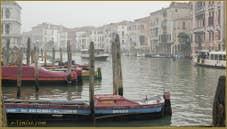 Voile de brume sur le Grand Canal