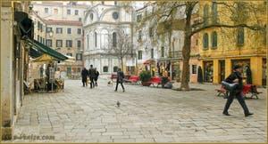 Le Campo Santa Maria Nova, dans le Sestier du Cannaregio à Venise.