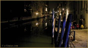 La Fondamenta San Lorenzo de nuit