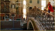 La Venise d'hiver : Le Pont del Mondo Novo